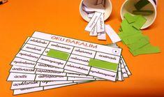 Heceleyerek Okuyan 1. Sınıf Öğrencileri İçin Oyunlar -1-