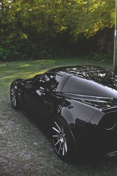 "I don't normally like newer corvettes but this one caught my attention. Love the black""Murdered out"" vibe. Looks mean.."