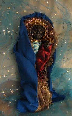 "Voodoo altar spirit doll ""Erzulie Dantor"""