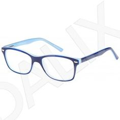 e2a213c250db DALIX Womens Byzantine Eyeglasses Frames Glasses 48-16-130-35 Blue Black  Pink