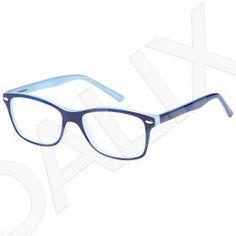 cd868bb1bf09 DALIX Womens Byzantine Eyeglasses Frames Glasses 48-16-130-35 Blue Black  Pink