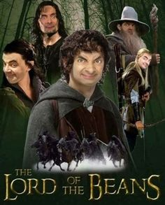 There is one Bean to rules them all. #mrbean #photoshop #funny #lol #rowanatkinson #movies
