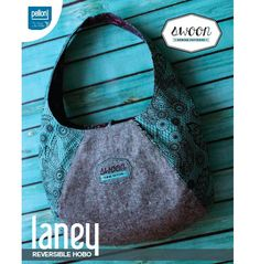 Free pattern: Laney Reversible Hobo bag