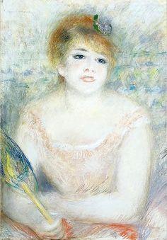 Pierre Auguste Renoir - Mlle. Jeanne Samary, c.1878