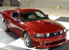 2006 Roush Mustang..I almost bought a red one just like this