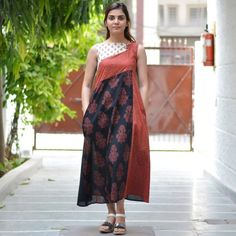Dresses - Page 2 of 6 - Rustorange Stylish Dress Designs, Designs For Dresses, Stylish Dresses, Fashion Dresses, Casual Work Outfits, Casual Wear, Kurta Designs, Blouse Designs, Casual Frocks