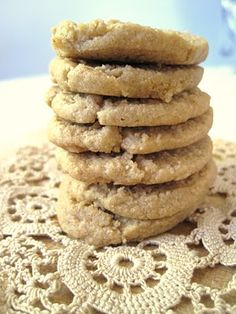 Peanut butter slice cookies... Weight Watchers Points Plus = 1 per cookie (makes 24)
