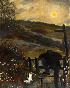 Gary Bunt | Sunrise: A man was leaning on a stile He'd been there for quite a while. The night-time left without a trace The sun it gently warmed his face.