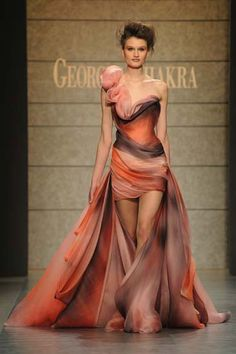 Jaw-droppingly gorgeous! I just need a place to wear something like this.