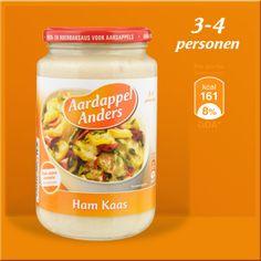 Aardappel Anders ham-kaas - koolhydraten 2,8 g per 100 gram. glutenvrij en geen conserveringsmiddelen. Drinks, Food, Drinking, Beverages, Meal, Essen, Drink, Hoods, Beverage