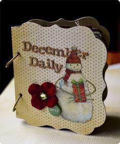 Christmas Mini Albums, Christmas Minis, December Daily, Reusable Tote Bags, Creative, Blog, Cards, Scrapbooking, Inspiration