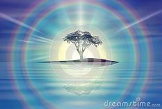 amazing-yellow-sunset-sky-clear-blue-sky-two-rainbows-halo-nature-wallpaper-tree-silhouette-sun-burst-rays-branches-colorful-cloudy-sky-calm-water-mirror-reflection-romantic-background-mood-meditation-tranquil-solitude-spiritual-release-magical-harmony-purity-background
