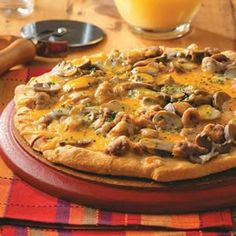Breakfast Pizza Recipe from Taste of Home -- shared by Kim Martin of Port Republic, Maryland
