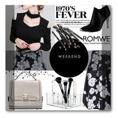 """""""Romwe #5"""" by selmagorath ❤ liked on Polyvore featuring Chinese Laundry, Bobbi Brown Cosmetics, vintage, women's clothing, women, female, woman, misses and juniors"""