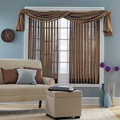 Cover Vertical Blinds With Sheer Fabric