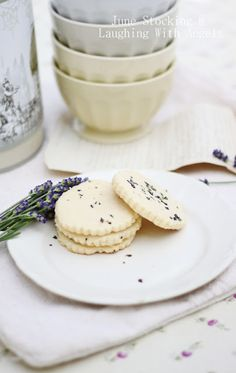 Shortbread cookies, Pink sea salt and Cookies on Pinterest