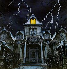 Writing real estate ads for a haunted house. Super cute idea!