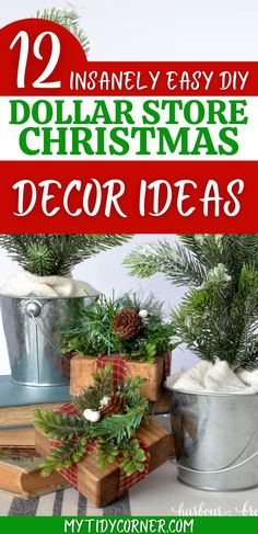 If you are looking for cheap DIY Christmas decor ideas, then you will love these easy Dollar store Christmas decorations DIY ideas. You can use these DIY Dollar Tree Christmas decor ideas to decorate your home on a budget this holiday season. Diy Christmas Decorations For Home, Diy Christmas Home Decor, Christmas On A Budget, Christmas Projects, Christmas Photos, Holiday Decor, Holiday Fun, Holiday Ideas, Christmas Ideas