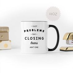 Engagement Mugs, Real Estate Gifts, Realtor Gifts, Gifts For Office, Gifts For Brother, New Homeowner, Black Accents, Funny Mugs, Mugs Set