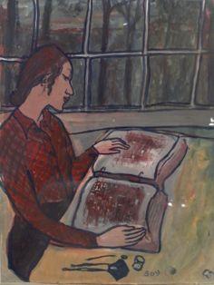 """Charlotte Salomon, Leben? oder Theater? Ein Singespiel"""" 1942, S. 369"""