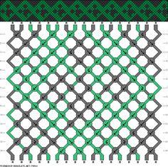 Resultado de imagen para imagenes de patrones para pulseras de creeper
