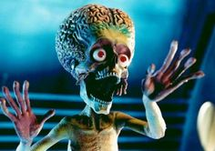 mars attacks #TimBurton