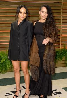 s1uts:  givenchychains:  celebritygossipbyrangi:  Zoe Kravitz and her mum Lisa Bonet, attending the Vanity Fair Oscars After Party in West H...