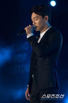 150904 Chen at Grand Kpop Festival