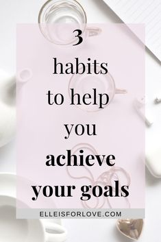 3 foundational habits to help you transform yourself so that you can transform your life, achieve your goals and live a life you love. Productive Things To Do, Habits Of Successful People, Achieving Goals, Achieve Your Goals, Happy Moments, Happy Thoughts, Goal Setting Life, What Is Mindfulness, Self Development