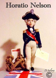 #Horatio #nelson #battle trafalga#trafalgar #square #knitted #doll #dolls #icon