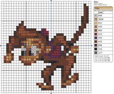 Free Cross Stitch Pattern - Abu II by ~Makibird-Stitching on deviantART