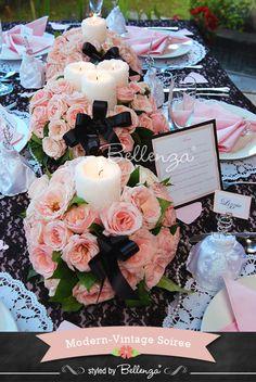 Wedding Menu Card Display Ideas: Easy and Elegant! Modern Vintage Theme!
