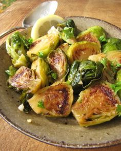Quick-Braised Brussels Sprouts