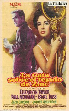 Programa de Cine - La Gata sobre el Tejado de Zinc