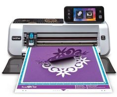 Brother ScanNCut 2 Cutting Machine with Scanner, Make DIY Vinyl Wall Décor, Custom Stickers and Stencil Sheets with 631 Included Patterns, ScanNCut Online Activation Card