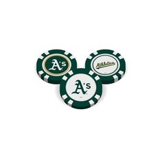 Oakland Athletics Golf Chip with Marker