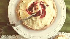 Rasberry Apple Custard Tart