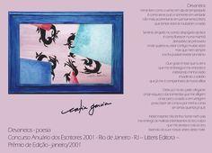 Prosa e Poesia Catia Garcia: Devaneios - texto premiado