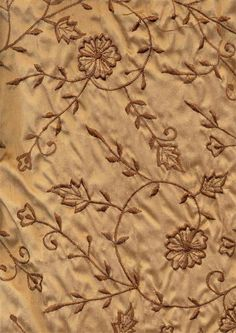 Rich chocolate brown silk dupioni 48
