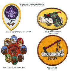 Buffalo Wood Badge Critter   WOOD BADGE STUFF
