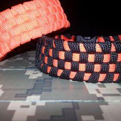 Paracord Checkerboard Survival Bracelet