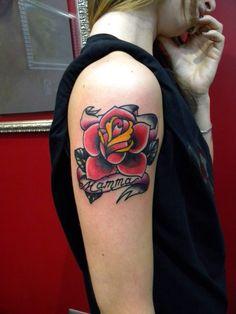Rose tattoo Instagram @jonatattoo Fb. Page. @jona tattoo art