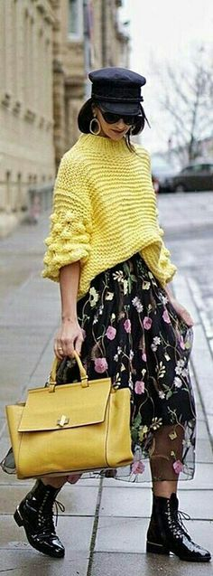 Trendy ideas for knitting poncho outfit fall fashion Knit Fashion, Fashion Week, Fashion Outfits, Womens Fashion, Fashion Trends, Street Fashion, Fashion Fashion, Street Chic, Street Style