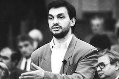 Viktor Orban 1990 godine kao Sorošev stipendista od '89.