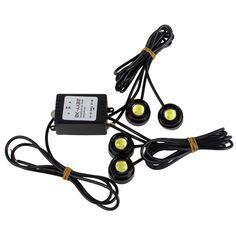 29.99$  Buy here - https://alitems.com/g/1e8d114494b01f4c715516525dc3e8/?i=5&ulp=https%3A%2F%2Fwww.aliexpress.com%2Fitem%2FSuper-Bright-4-pieces-x-12W-High-Power-Eagle-Eye-LED-Strobe-Flash-Knight-Rider%2F32383364321.html - Super Bright 48W High Power Eagle Eye LED Strobe Flash Knight Rider Lighting Kit + Wireless Remote Control 29.99$