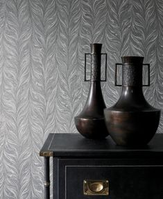Ebru II features in the new Darnley collection and displays a delicate marble paper in minute detail to create a feminine and contemporary wallpaper. Zoffany Fabrics and Wallpapers, September 2018 Marble Effect Wallpaper, Geometric Wallpaper, Pattern Wallpaper, Grey Kitchen Wallpaper, Hallway Wallpaper, Zoffany Wallpaper, Marimekko Wallpaper, Zoffany Fabrics, Contemporary Wallpaper