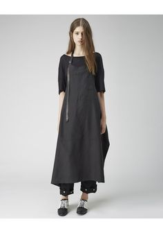 Yohji Yamamoto / Apron Dress | La Garconne