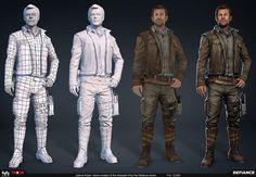 Making of 3D Design for War Pilot
