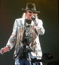 O show que esperei por 10 anos: Guns n'Roses   DF - 2010.