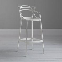 Philippe Starck for Kartell Masters Bar Chair, White